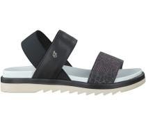 Schwarze Armani Jeans Sandalen 925133