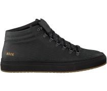 Schwarze Nubikk Sneaker JHAY CAB LIZARD