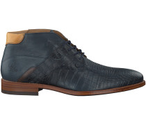 Blaue Rehab Business Schuhe ADRIANO