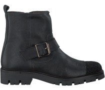 Schwarze Clic Kurzstiefel CL9024