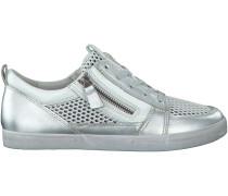 Silberne Gabor Sneaker 448