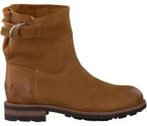Cognac Shabbies Ankle Boots 181020071