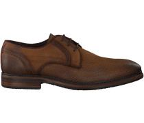 Cognac Braend Business Schuhe 15545