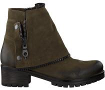 Grüne Omoda Biker Boots 1027