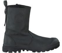Schwarze Palladium Boots PAMPA SLOUCH