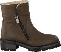 Taupe Via Vai Biker Boots 4932119