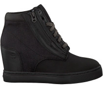 Schwarze G-Star Wedge Sneaker D06363