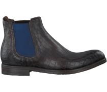 Schwarze Greve Business Schuhe 1728.02