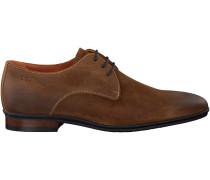 Cognac Van Lier Business Schuhe 4360