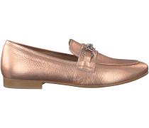 Rosé goldene Omoda Loafer EL03