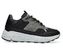 Sneaker Low R1300 Mid Ctr M Schwarz Herren