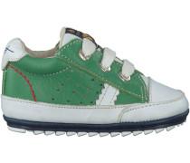 Grüne Shoesme Babyschuhe BP7S007