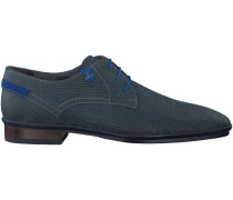 Blaue Floris van Bommel Business Schuhe 14310