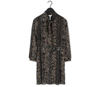 Minikleid Anna L/s Shirt Dress Schwarz Damen