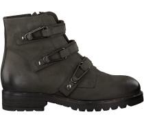 Graue Mjus Biker Boots 190223