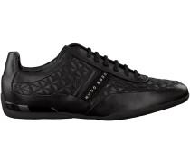 Schwarze Hugo Boss Sneaker SPACE LOWP