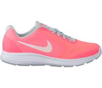 Rosa Nike Sneaker REVOLUTION 3 KIDS