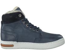 Blaue Hip Sneaker H2166