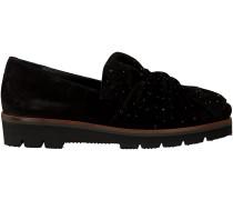 Schwarze Maripé Slipper 25052