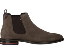 Tommy Hilfiger Chelsea Boots Signature Hilfiger Chelsea Taupe Herren