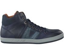 Blaue Van Lier Sneaker 7277