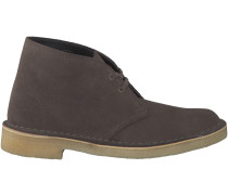 Taupe Clarks Boots DESERT BOOT DAMES