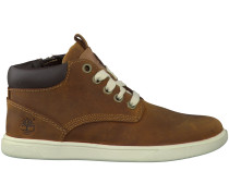 Braune Timberland Boots GROVETON LEATHER CHUKKA