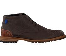 Braune Floris van Bommel Ankle Boots 10907