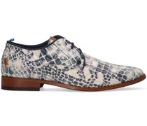 Rehab Business Schuhe Greg Croco Duo 121 Blau Herren