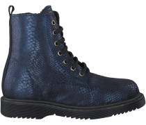 Blaue Clic Kurzstiefel CL8834