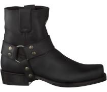Schwarze Sendra Cowboystiefel 9077