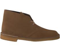 Braune Clarks Boots DESERT BOOT