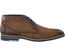 Cognac Braend Business Schuhe 24508