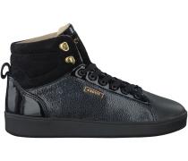 Schwarze Cruyff Classics Sneaker SYLVER