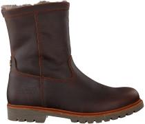 Braune Panama Jack Ankle Boots FEDRO IGLOO