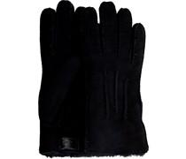UGG Handschuhe Contrast Sheepskin Glove Schwarz Herren