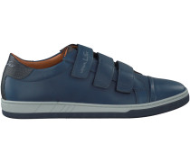 Blaue Van Lier Sneaker 7306