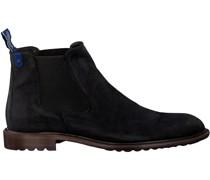 Blauwe Floris Van Bommel Chelsea Boots 10902 Blau Herren