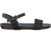 Schwarze Fred de la Bretoniere Sandaletten 304038