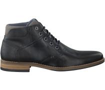 Schwarze Omoda Business Schuhe 773K54654F