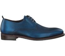 Blaue Floris van Bommel Business Schuhe 14383