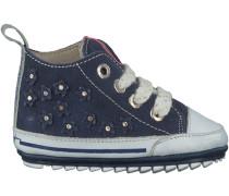 Blaue Shoesme Babyschuhe BP7S008