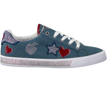 Blaue Guess Sneaker FLMEM1 ELE12S