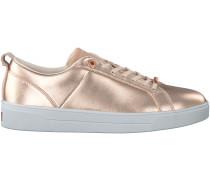 Rosé goldene Ted Baker Sneaker KULEI