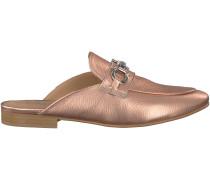 Rosé goldene Omoda Loafer EL07