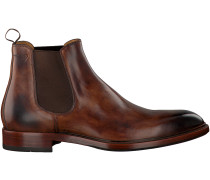 Braune Greve Chelsea Boots PIAVE