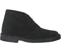 Schwarze Clarks Boots DESERT BOOTS DAMES