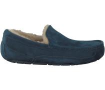 Blaue UGG Hausschuhe ASCOT