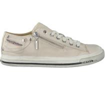 Weiße Diesel Sneaker EXPO ZIP LOW