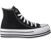 Converse Sneaker High Chuck Taylor All Star Eva Lift Schwarz Damen